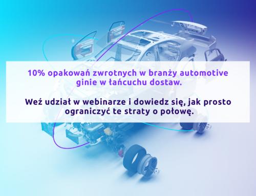 """Webinar """"Śledzenie zasobów w łańcuchu dostaw w branży motoryzacyjnej"""""""